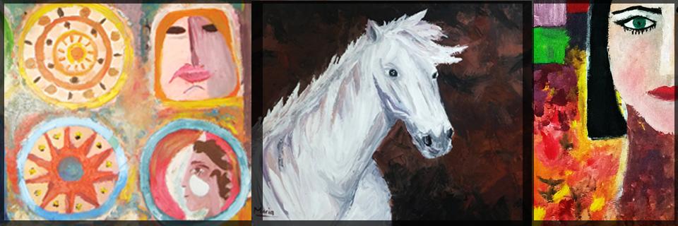 تعليم لوحات فنية Painting Course Drawing Painting Teacher